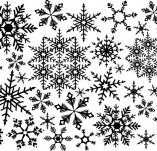 75/1793/Дизайнерски печати и надписи за картички-Фонови печати-Фонов печат снежинки