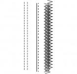 146/1799/Дизайнерски печати и надписи за картички-Микс медия печати-Печат на черти пунктир и зиг заг