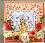 30/1845/Картички-Скрапбук-Весела поздравителна картичка с охльовчета