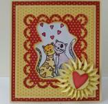145/1875/Картички-Романтични картички-Любовта е