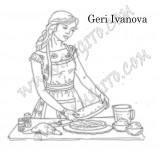 160/1901/Дизайнерски печати и надписи за картички-Печати за албуми-Печат на домакиня