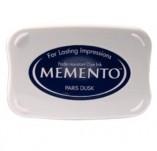 57/1932/Mастила, почистващи средства-Мементо-MEMENTO INKPAD Тампон с ярък отпечатък PARIS DUSK