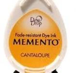 57/1935/Mастила, почистващи средства-Мементо-MEMENTO DEW DROP Тампон с ярък отпечатък CANTALOUPE