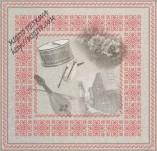 17/1955/Хартии-Дизайнерски хартии-Дизайнерска хартия с български шевици музикални инструменти