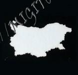 182/1992/Елементи от бирен картон и дърво-Лазерно изрязани фолклорни фигури от бирен картон -Карта на България лазерно изрязана бирен картон