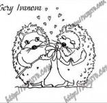 21/2147/Дизайнерски печати и надписи за картички-Романтика-Ти си красива фотополимерен дизайнески печат