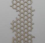 184/2151/Елементи от бирен картон и дърво-лазерно изрязани рамки от бирен картон и дърво -Лазерно изрязана пчелна пита от бирен картон