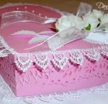 41/226/Сватбени-Кутийки и ЗД за пожелания и пари-Сватбена кутийка с бели рози