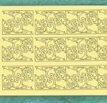 183/2260/Чипборд елементи от бирен картон и дърво-Лазерно изрязани ъгли от бирен картон -Лазерно изрязани ъгли от бирен картон