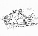 21/2269/Дизайнерски печати и надписи за картички-Романтика-Печат романтични срещи
