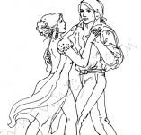 21/252/Дизайнерски печати и надписи за картички-Романтика-Танго