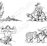 20/255/Дизайнерски печати и надписи за картички-Деца-Сладурковци
