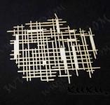 184/2692/Елементи от бирен картон и дърво-лазерно изрязани рамки от бирен картон и дърво -Лазерно изрязан елемент бирен картон