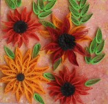15/314/Panels-Panels with quilling-Autumn field