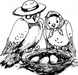 20/339/Дизайнерски печати и надписи за картички-Деца-Гнездо