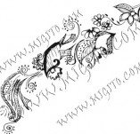 61/342/Дизайнерски печати и надписи за картички-Флорални елементи-2