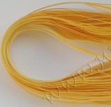 64/374/Sheets of paper-Paper for quilling 4mm 65cm-light yellow strips for 4mm 65 cm