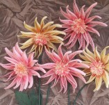15/396/Panels-Panels with quilling-Chrysanthemum