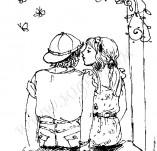 21/406/Дизайнерски печати и надписи за картички-Романтика-Ще ти подаря