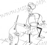 74/446/Дизайнерски печати и надписи за картички-Стилизирани-Ще те сготвя