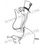 74/455/Дизайнерски печати и надписи за картички-Стилизирани-Аристократ печат