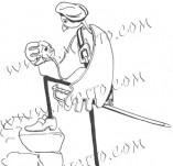 74/457/Дизайнерски печати и надписи за картички-Стилизирани-Да бъдеш или не печат