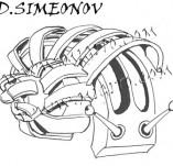 74/463/Дизайнерски печати и надписи за картички-Стилизирани-Охлюв печат
