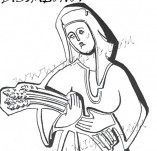 74/468/Дизайнерски печати и надписи за картички-Стилизирани-Жетварка печат