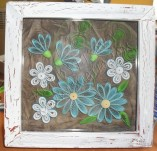 15/498/Panels-Panels with quilling-Frame with cracle