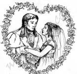 21/510/Дизайнерски печати и надписи за картички-Романтика-Сватба