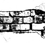 24/511/Design stamps and inscriptions-Retro elements-Bricks in the wall