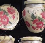 88/519/Декупаж-Бурканчета-Бурканче с червени цветя