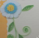 14/52/Картички-Квилинг-Синьо цвете 3