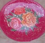 90/528/Декупаж-Чинии-Чиния с рози