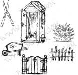 91/538/Дизайнерски печати и надписи за картички-Направи си картина-Селска идилия
