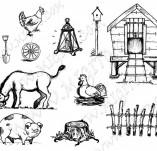 91/541/Дизайнерски печати и надписи за картички-Направи си картина-Дребни елементи 1