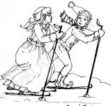 21/564/Дизайнерски печати и надписи за картички-Романтика-Ски