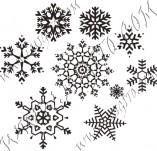 95/566/Дизайнерски печати и надписи за картички-Снежинки-Печати на снежинки 1
