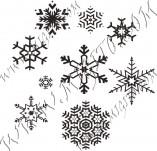95/569/Дизайнерски печати и надписи за картички-Снежинки-Печати на снежинки 5