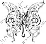 96/578/Design stamps and inscriptions-Butterflies-Butterfly 5