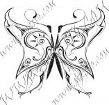 96/585/Дизайнерски печати и надписи за картички-Пеперуди-Печат на пеперуда 12