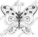 96/586/Design stamps and inscriptions-Butterflies-Butterfly 13