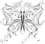 96/589/Дизайнерски печати и надписи за картички-Пеперуди-Печат на пеперуда16