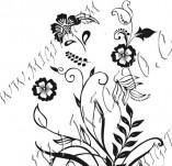 91/606/Дизайнерски печати и надписи за картички-Направи си картина-Цветя с декоративни елементи
