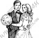 21/608/Дизайнерски печати и надписи за картички-Романтика-Сватба 2