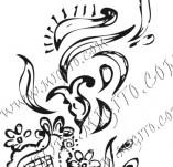 61/611/Дизайнерски печати и надписи за картички-Флорални елементи-3