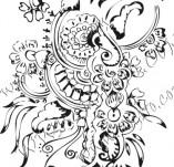 61/612/Дизайнерски печати и надписи за картички-Флорални елементи-4