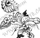 61/613/Дизайнерски печати и надписи за картички-Флорални елементи-5