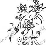 61/615/Дизайнерски печати и надписи за картички-Флорални елементи-7