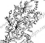 61/618/Дизайнерски печати и надписи за картички-Флорални елементи-10